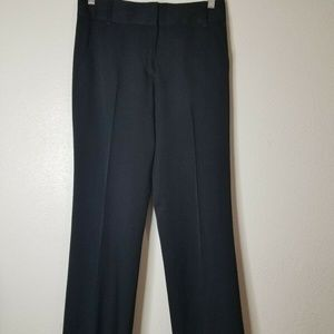 J. Crew Original Fit Black Wool Dress Pants SZ 0